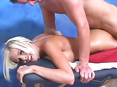 Teenager enjoys to fuck large hard schlongs when this indulge finds team a few