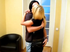 Gorgeous teenie sweetie fair-haired receives getting screwed and bj